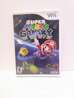Super Mario Galaxy (Nintendo Wii, 2007) Complete Tested Working Fast Shipping!