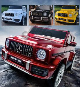 Kids New Licensed Mercedes Benz G63 AMG  High Door 12V Battery Ride on Car Toy