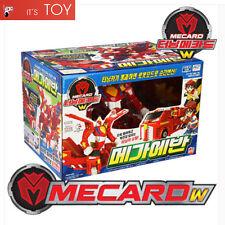 Turning Mecard W MEGA EVAN Red Great Transformer Robot Car Toy Jumbo Mecarnimal