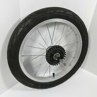 Schwinn Rear Tire, 16 x 2.25 Jogger Baby Stroller Aluminum Alloy Wheel (1)