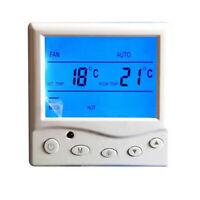 Raumthermostat Digital Raumtemperaturregler LCD Raumregler Fußbodenheizung 220V❤