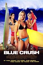 BLUE CRUSH -2002 orig 27x40 surf movie poster- KATE BOSWORTH, MICHELLE RODRIGUEZ