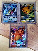 Pokemon Hidden Fates CHARIZARD GYARADOS RAICHU GX Promo Holos SM211 SM212 SM213