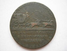 Middlesex, Mail Coach Halfpenny token, DH363.