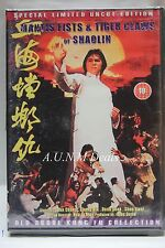 mantis fists & tiger claws of shaolin old scholl kung-fu ntsc import dvd