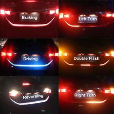 4 Colors Car LED Strip Trunk Tail Brake Turn Signal Light Waterproof Flow Type