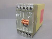 474550    - PILZ -    474550 /   P1HZ/2-230VAC 2A       Relais de sécurité  USED
