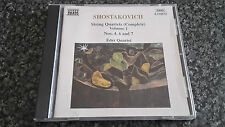Shostakovich Complete String Quartets Volume 1, Nos. 4, 6 & 7  CD Eder Quartet