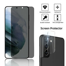 For Samsung Galaxy S21 Plus Ultra/S20+ Anti-Spy Privacy Glass Screen Protector