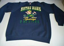 Vintage Notre Dame Fighting Irish Crewneck Sweatshirt XXL Fruit Of the Loom USA