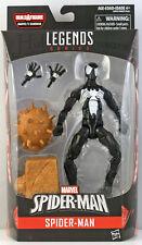 """Marvel Legends 6"""" SYMBIOTE SPIDERMAN Action Figure Wave 7 Sandman BAF"""