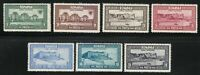 Romania 1928 MNH Mi 329-335 Sc 329-335 Reunion of Bessarabia with Romania **