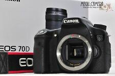 [MINT] Canon EOS 70D 20.2MP Digital SLR Camera - Black from JAPAN   (G259)