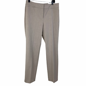 Ann Taylor Factory 10 Dress Pants Beige The Straight Curvy Fit Mid Rise New NWT