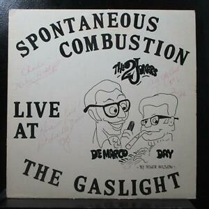 DeMarco & Day - Spontaneous Combustion VG+ signed Mono LP Gaslight Records