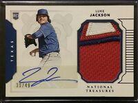 2016 National Treasures LUKE JACKSON Autograph Rookie Jersey Patch /49