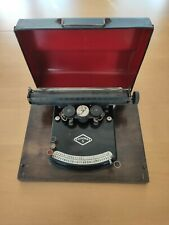 antike Schreibmaschine Typewriter Gundka 5