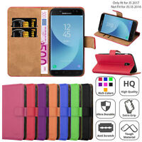 For Samsung Galaxy J5 2017 Case Magnetic Flip Wallet Leather Protective Cover