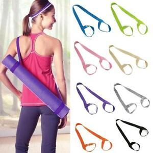 Yoga Mat Strap Carrier Bag Shoulder Sling Adjustable Carry Exercise Gym Belts