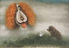 Hedgehog in the Fog Norstein's hand-signed  high quality print (Hedgehog & Dog)