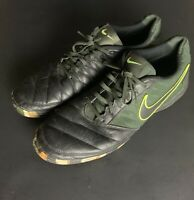 Nike Lunar Gato II Men's Camo Black Indoor Soccer Shoe  580453-007 Size 12