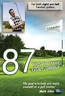 87 Tips to Make Golf Simple (DVD), Like new, free shipping