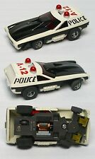 1976 Aurora AFX G+ Smokie's POLICE VEGA HO Slot Car Screecher Magna-steer #5781