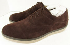 FitFlop Mens Lewis Suede Lace Up Oxford Sneaker Shoes, Chocolate, US 10