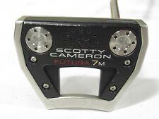 "Used RH Titleist Scotty Cameron Futura 7M 35"" Putter"