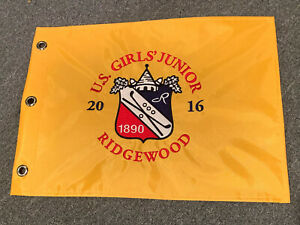 Ridgewood Country Club Pin Flag US Girls' Junior 2016 Golf Tournament New Jersey