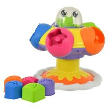 Tomy 72611 Toomies Sort & Pop Spinning UFO Preschool Toy