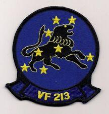 USN VF-213 BLACKLIONS patch F-14 TOMCAT FIGHTER SQN