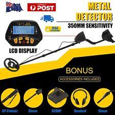 Shovel Headphone Metal Detector Deep Sensitive Gold Digger Hunter 3 in 1 Kit SP