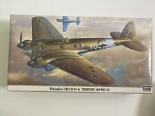 Hasegawa Heinkel He111H-6 North Africa hasewaga Model Kit 1:72 Complete  #00803