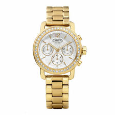 COACH Ladies Legacy Gold-Tone Dress Watch 14501883