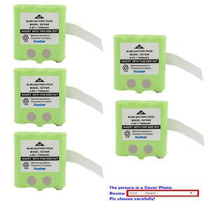 Kastar 4.8V 1000mAh Ni-MH Battery for Motorola TalkAbout SX700R TalkAbout SX710