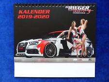 Rieger Tuning Tischkalender 2019 2020 VW Golf GTI Audi Ford BMW Skoda Hyundai
