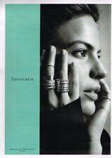 G- Publicité Advertising 2017 Les Bijoux Tiffany & Co Cameron Russell