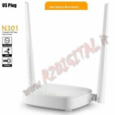 ACCESS POINT TENDA N301 WIRELESS 300M N 2 ANTENNE MOVIBILI LAN WAN WIFI ROUTER