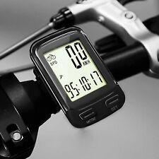 SOONGO Bike Computer Wireless Waterproof MPH&KM Cycle Speedometer Multifuncti...