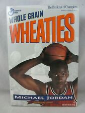 Michael Jordan Collector's Edition Wheaties Box  VGC  (719v)