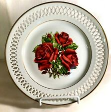 "B & G Danbury Mint The 12 Rose Plates 8 1/2"" Mirandy Plate"
