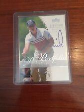 Upper Deck Annika Sorenstam autographed golf card