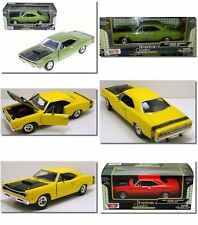 Dodge Coronet Superbee 1969  Motormax 1/24 ,Classic Model Car