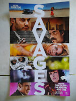 """SAVAGES Original Theater Handout 11"""" x 17"""" Poster! Oliver Stone Mini Poster"""