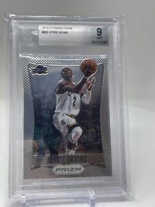 Kyrie Irving Rookie Card 2012-13 Panini Prizm #201 BGS 9