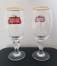 Brand New 330ml 33cl Stella Artois Beer Glasses Branded