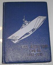 USS Antietam CVA 36 1952 - 1953 Cruise Book