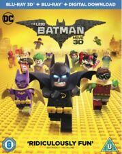 The Lego Batman Movie 3D BLU-RAY *NEW & SEALED*