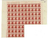 65 Sellos de España 1938 nº 767 Cruz Roja Española DEFECTOS